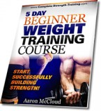 5 Day Beginner Weight Training