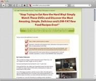 Low-Fat Raw Food Recipes