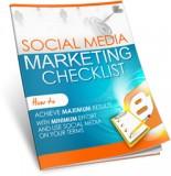 Your Social Media Marketing Checklist