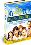 My 25 Top Parenting Tips